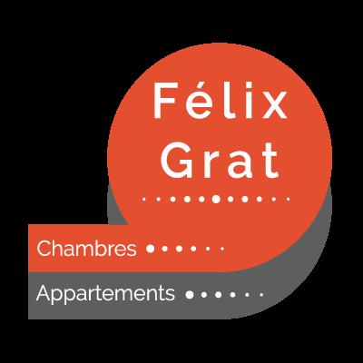 Chambres meublées et appartements à Laval 53 – Le Félix Grat Logo